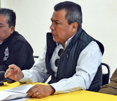 Se lleva a cabo la reunión de evaluación en la Dirección de Seguridad Pública, con la presencia del Mando Único y las autoridades municipales.