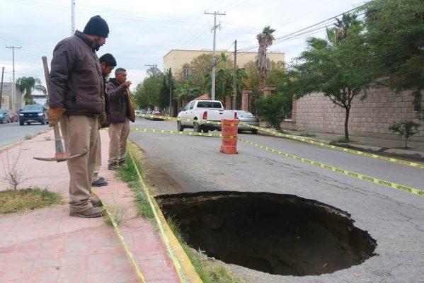 Dejan lluvias y nieve tres colectores caídos en Torreón