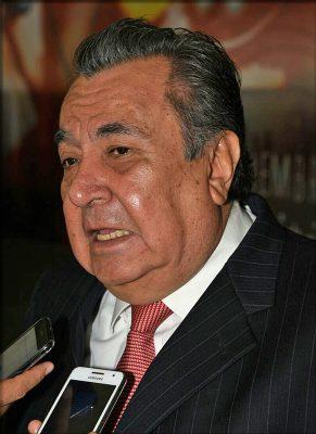 Rubén Calderón Luján, secretario de Educación.