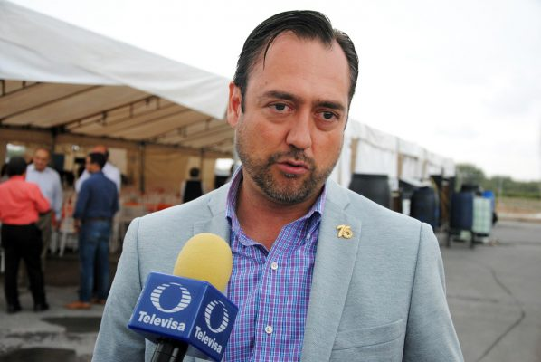 Javier González Lara, presidente de Canacintra Torreón.