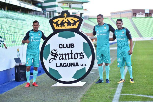 Santos Laguna presenta a refuerzos para el Clausura 2018