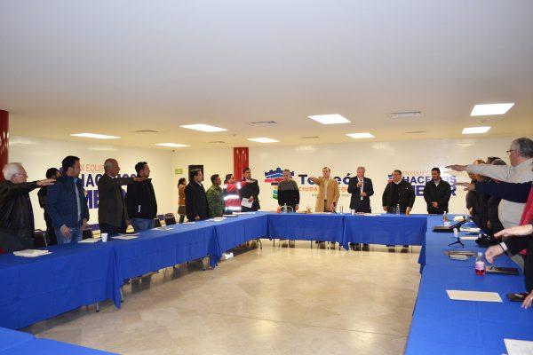 Formalizan instalación de nuevo Consejo de Protección Civil