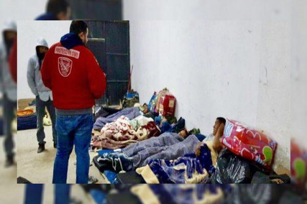 Rescatan del frío a 162 trabajadores de parque eólico de Acuña