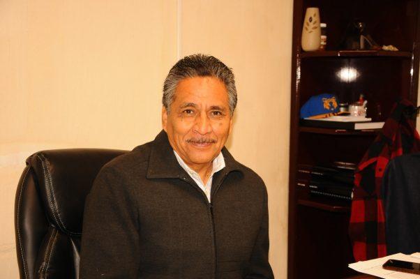 José Dimas López Martínez, síndico municipal.