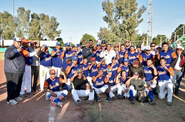 Sandilleros se corona campeón de la Liga Mayor de Beisbol de La Laguna