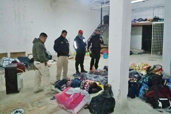 No eran indocumentados los rescatados por frío en Acuña