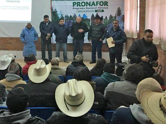 Ejidatarios y productores agropecuarios conocieron las reglas de operación para 2018.