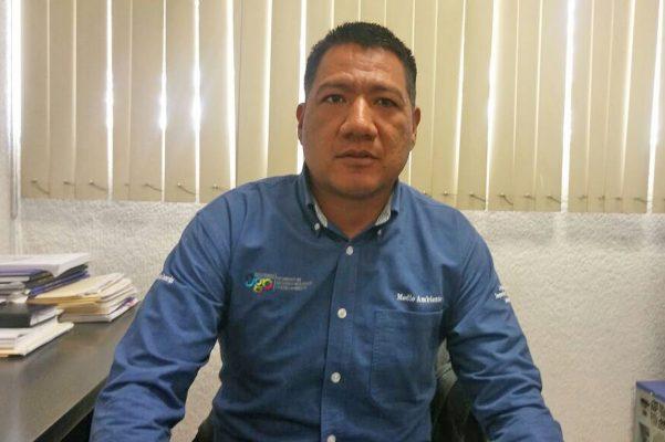 Miguel Ángel Puentes Zamarripa, coordinador de la Semarnat en la región lagunera.