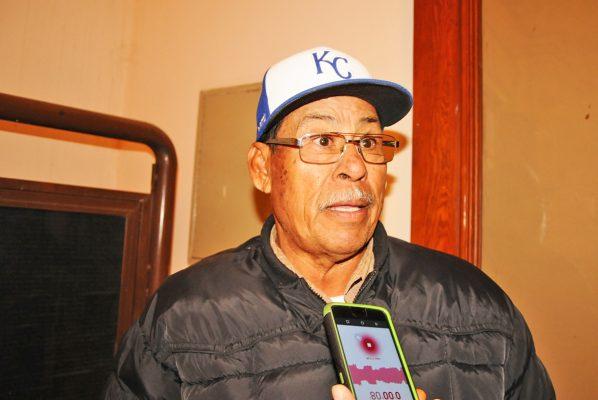 David Chavarría Rico, dirigente del Módulo de Riego 03.