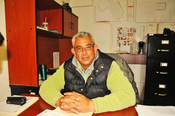 Gustavo Gutiérrez Zamudio, jefe de Plazas y Mercados en Gómez Palacio.