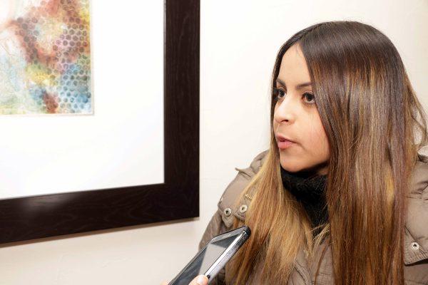 Yadsiria Salazar González, estudiante de Arquitectura.