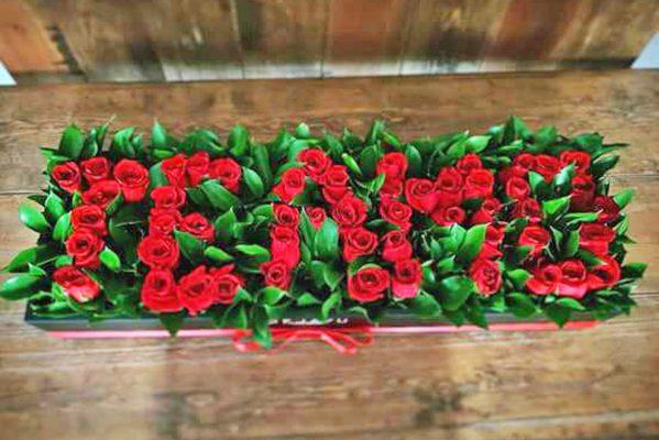 La venta de flores a la alza en estas fechas.