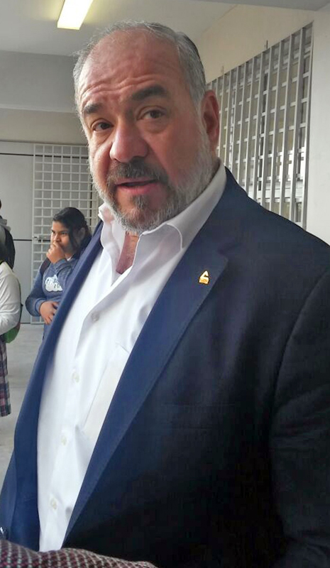 José Antonio Baille Smith, Presidente de la Cámara de Comercio de Torreón.