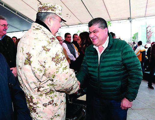 Soy gobernador de 38 municipios y estaré presente en todos: Riquelme