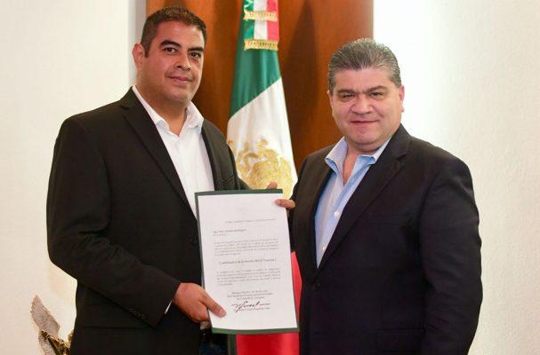 Gobernador Riquelme entrega nuevos nombramientos