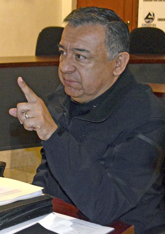 Primo Francisco García Cervantes, titular de la DSPM.