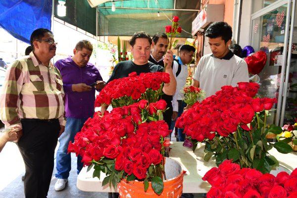 El Día de San Valentín se vivió en toda la ciudad