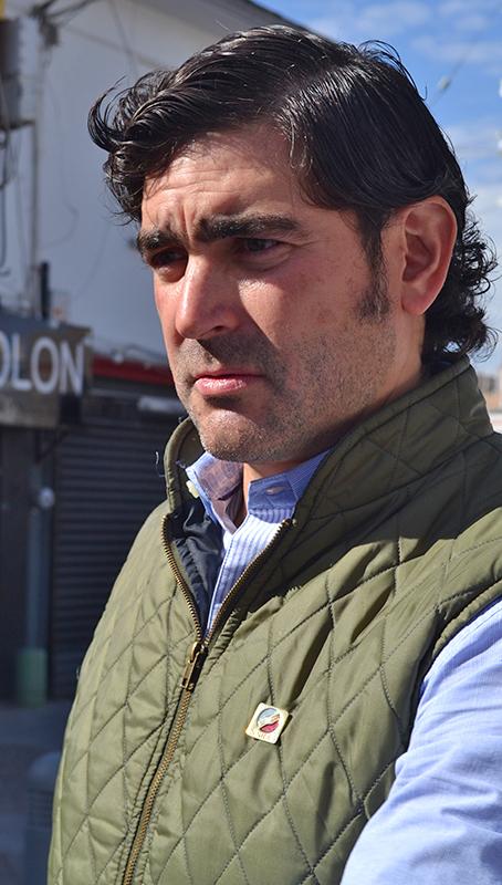 Carlos Fink, presidente de la CANIRAC Laguna.