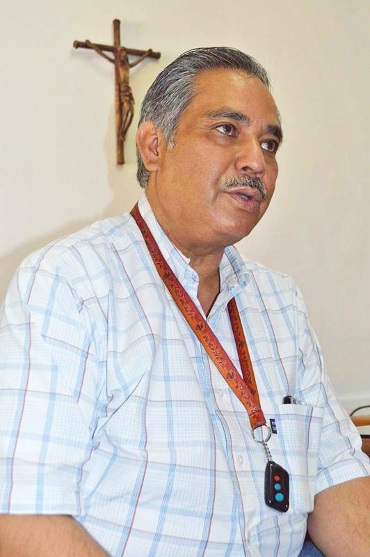 Padre Ignacio Mendoza Wong, vocero de la Diócesis de Torreón.