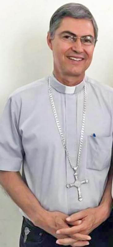 Luis Martín Barraza Beltrán, obispo de Torreón.