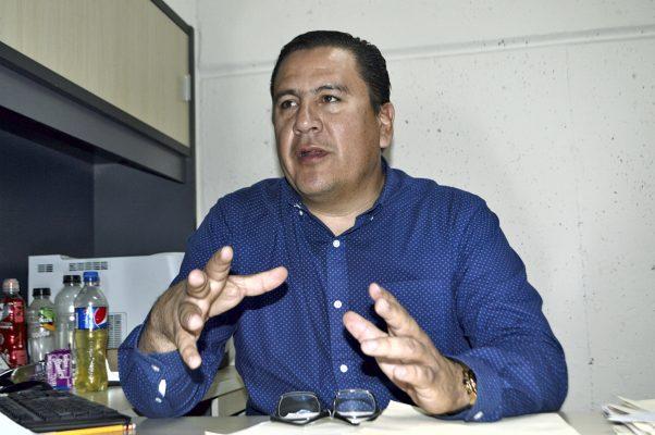 Rolando Anaya Araujo, director de Plazas y Mercados.