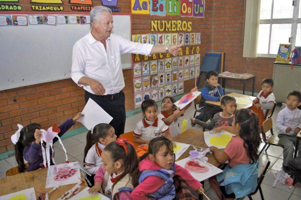 Municipio realizará mejoras en escuelas de Rincón La Merced