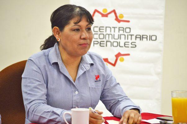 Dolores Herrera Nava, coordinadora del Centro Comunitario Peñoles.