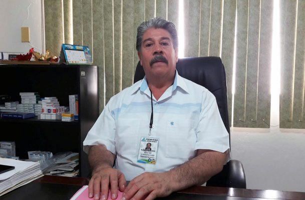Jorge Hernández Reyes, jefe de la Jurisdicción Sanitaria II.