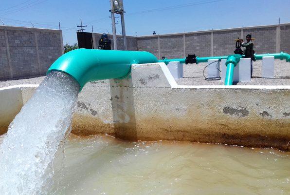 Cobertura al 100% en el servicio de agua: LWS