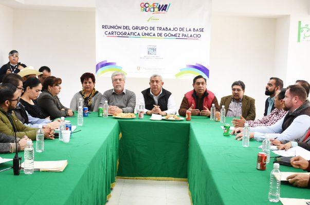 Alcalde se reunió con representantes del INEGI
