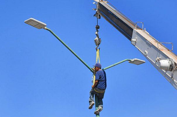 Se han mejorado 21 Kms. de cableado aéreo
