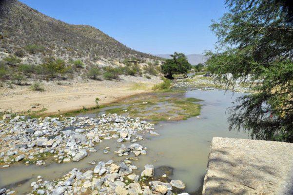 El Cañón de Fernández, con un serio riesgo de contaminación.