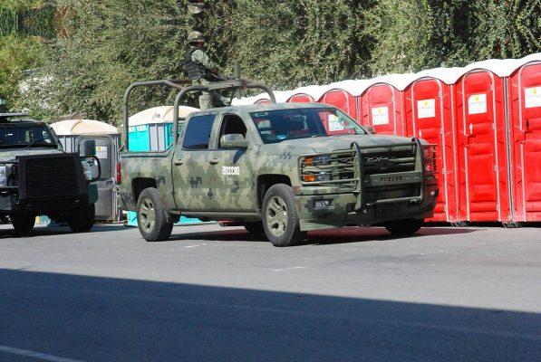 Ejército y PGR trabajan para sellamiento de Coahuila