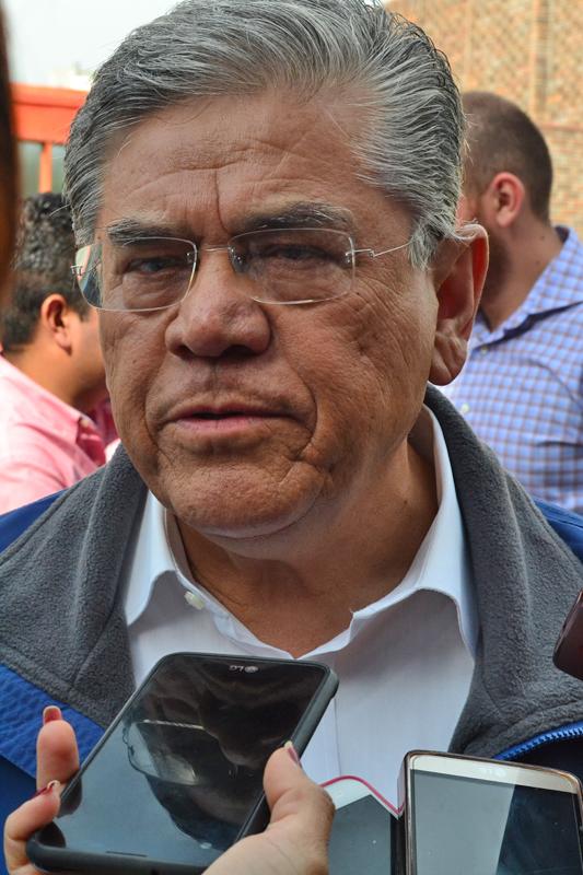 Salvador Hernández Vélez, candidato a rector de la Universidad Autónoma de Coahuila.