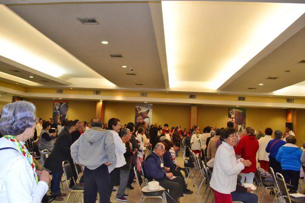 La Jornada Mundial por los Enfermos se celebró en Torreón con más de 500 asistentes.