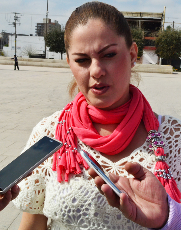 Fernanda González Padrelín, de la Casa Hogar 'Abrázame'.