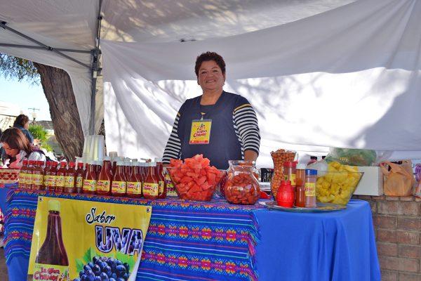 El chamoy le abre el mercado lagunero.
