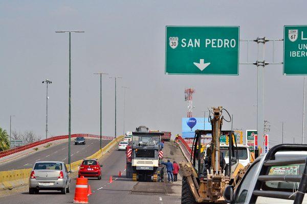 Arrancan trabajos en el puente Ibero