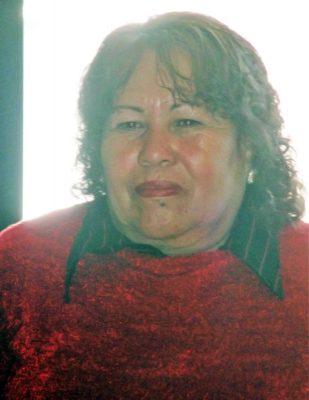 María Josefina Rodríguez, titular de Salud del municipio de Ocampo.