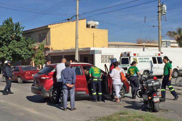Atendieron el incidente Peritos, Tránsito y Vialidad, así como socorristas de la Cruz Verde.