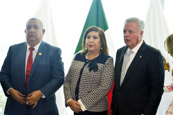 José Lorenzo Natera Ruelas, María Luisa González Achem y Jorge Zermeño Infante.