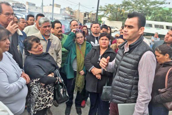 Continúa la manifestación de Telesecundarias en Durango