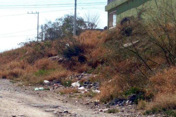 Tirar y quemar basura y escombro será sancionado en Frontera.