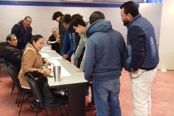 Sin incidentes, votación en Unidad Norte de UA de C