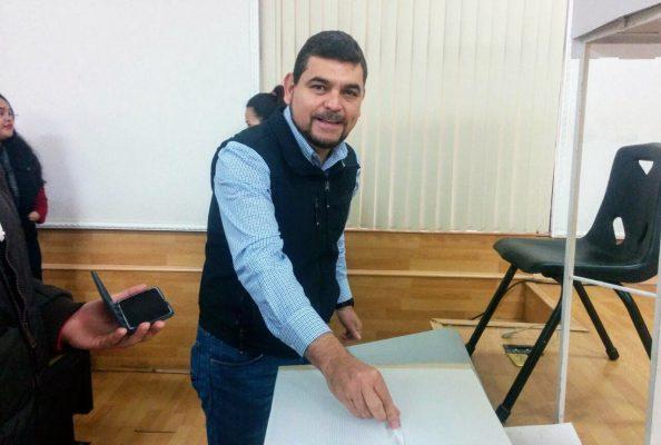 El coordinador de la Unidad Norte, Javier Toledo.