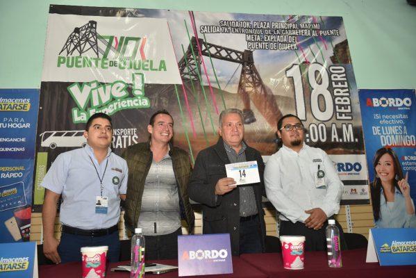 Presentan la edición 14 de la 10K y 7K Puente de Ojuela