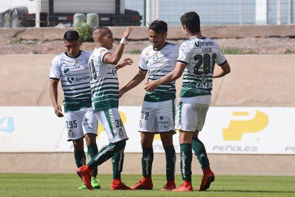 Equipos juveniles santistas reciben al León