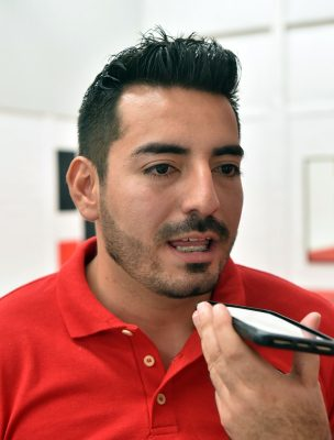 Fernando Urquizo Guerrero encargado de la academia.