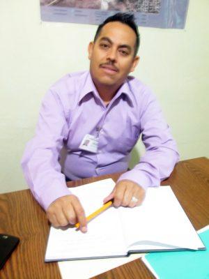 Diego Patricio Valerio Guzmán, director de Turismo de Ocampo.