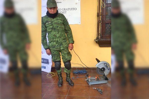 Buena respuesta a canje de armas en Región Centro